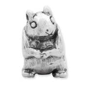 Sterling Silver Reflections Squirrel Bead Charm - JewelryWeb