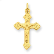 Sterling Silver & 24k Gold-plated INRI Crucifix Charm