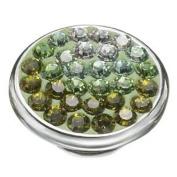 Kameleon Jewellery Pistachio Wave JewelPop KJP471 *Authentic New Sterling Silver