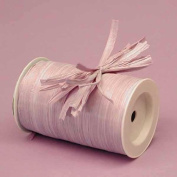 Orchid Matte Raffia Ribbon, 0.6cm X 100 Yards