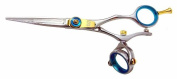 Kissaki Pro Hair Cutting Gokatana 14cm Double Swivel Thumb Salon Shears Barber Scissors