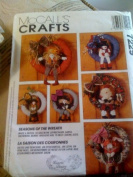 McCall's Crafts #7229 Seasons of the Wreath NEW