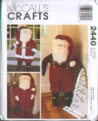 McCall's 2440 - Santa Door Greeters - 100cm Dolls w/ Movable Arms