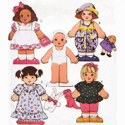 Butterick 3221 Busybodies No Sew Dolls and Transfers Sewing Patterns