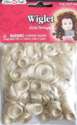 Fibre Craft DOLL HAIR WIGLET 5 Inches (12.7 cm) ASH BLONDE Colour (NO Colour Name on Package)