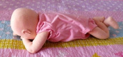 Cloth Soft Sculpture Real Baby Doll Pattern with Instruction CD/043/-Angie Baby 46cm -Make a Boy or Girl Baby from Craft Velour