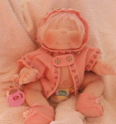 Soft Sculpture Jointed Doll Pattern with Instruction CD/079/Alexa Rose 38cm -Make a Pink Fur Hair Girl Doll from / Craft Velour