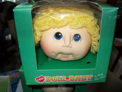 Little Doll Baby Curly Hair Blonde Doll Head