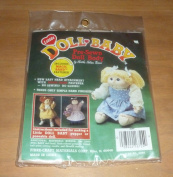 Little Doll Baby Pigtails #3173 W/Pre-Sewn Doll Body