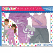 Fibre Craft Springfield Collection Fitness Fun Doll Clothes Set
