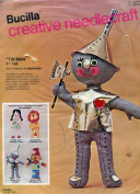 Bucilla Needlecraft Kit ~ Soft Sculptural 50cm Wizard of Oz Tin Man Doll