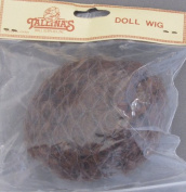 Tallina's Craft DOLL HAIR WIG Style 802 Fits SIZE 15cm AUBURN Colour