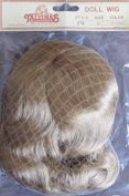 Tallina's Craft DOLL HAIR WIG Style 924 SIZE 28cm Colour DARK BLONDE