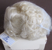 WEE 3 Craft DOLL HAIR WIG Style TINA Fits SIZE 30cm - 34cm Colour PALE BLONDE