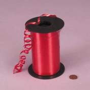 Red Curling Ribbon, 0.5cm X 500Yd