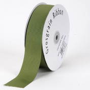 Old Willow Grosgrain Ribbon Solid Colour 1cm 50 Yards