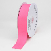 Hot Pink Grosgrain Ribbon Solid Colour 1.6cm 50 Yards