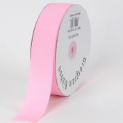 Light Pink Grosgrain Ribbon Solid Colour 1.6cm 50 Yards