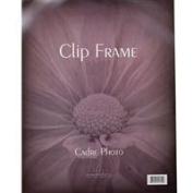 41cm X 50cm Polished Glass Clip Frame, Posters, Photographs, Pictures, Prints, Certificates, Diplomas