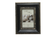Megashopping Rope Border Black Wood 10cm By 15cm Picture Frames.