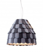 Zuo Modern 50159 Mesocyclone Ceiling Lamp Grey