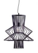 Zuo Modern 50143 Tornado Ceiling Lamp Black