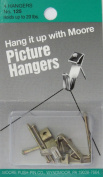 Moore Push-Pin 10-Pound Picture Hanger and Nail