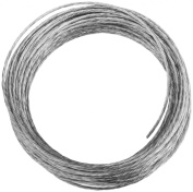 National Hardware V2565 #2 x 25' Light-Duty Braided Wire in Galvanised