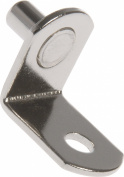 The Hillman Group 593006 Shelf Pins Nickel 0.6cm , 4-Pack