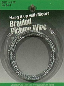 Moore #4 Braided Picture Wire _40lbs