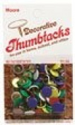 ECONOMY DECORATIVE THUMBTACK ASSORTMENT