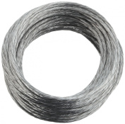 National Hardware V2565 #3 x 25' Medium-Duty Braided Wire in Galvanised