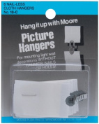 Nail-Less Cloth Picture Hangers 6/Pkg-