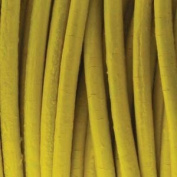 Genuine Leather Cord 2mm Yellow
