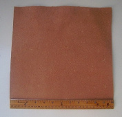 Leather Side Piece Veg Tan Split Medium Weight 30cm X 30cm 1 Square Foot