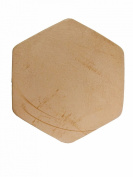 Springfield Leather Company 7.6cm Leather Hexagon Shape 25pk