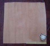 Leather Side Piece Veg Tan Split Medium Weight 60cm X 60cm 4 Square Feet