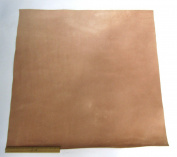 Leather Side Piece Veg Tan Split Medium Weight 90cm X 90cm , 9 Square Feet
