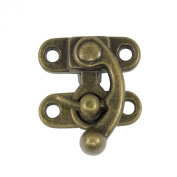 Springfield Leather Company 3.2cm Antique Brass Plate Swing Lock Clasp