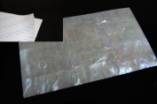 White Mother-of-Pearl Shell Coated Adhesive Veneer Sheet