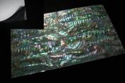 Green Abalone Shell Coated Enhanced Adhesive Veneer Sheet