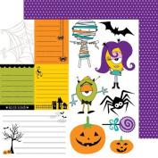 Bella Blvd Cute Cuts Too Cute to Spook Paper