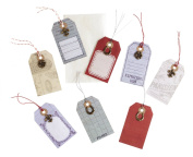 Jolee's Boutique Craft Tag with Metal Embellishment