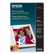 Epson Premium Photo Paper SEMI-GLOSS (33cm x 48cm , 20 Sheets)