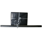 Black Solid 12.5 sq ft. Wrapping Paper Rolls - Sold individually