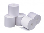 PM Company Perfection POS/Cash Register Rolls, 8.3cm x 240 Feet, White, 5 per Pack