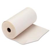 PM Company Teleprinter Paper Roll, 20cm - 1.1cm x 235 ft, White
