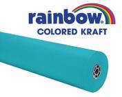 Pacon 63160 - Rainbow Duo-Finish Coloured Kraft Paper, 35 lbs., 36 x 1000 ft, Aqua