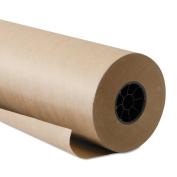 Boardwalk Paper KFT6060500 500 Foot Length x 150cm Width, Brown Kraft Paper Roll