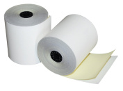 Quality Park Two-Ply Carbonless Teller/Proofing and Encoding Machine Rolls, Self-Contained, 7.6cm x 90 Feet, White/Canary Yellow, Box of 50